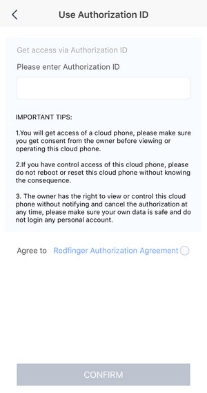 Redfinger cloud mobile phone ios switch language guide,ro