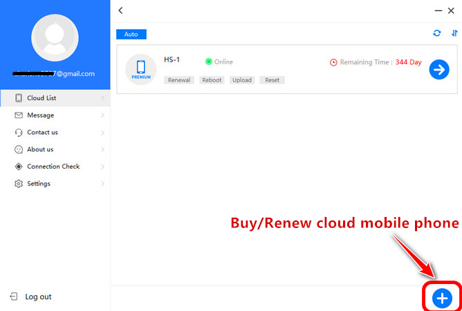 Redfinger Cloud Mobile Phone Purchase Guide for windows